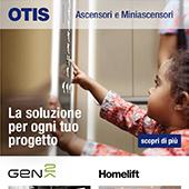 Ascensori e Miniascensori OTIS: la soluzione per ogni tuo progetto