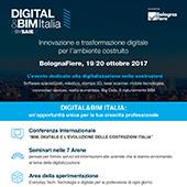 Digital&BIM Italia: Bologna 19-20 ottobre 2017