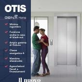 Nuovo miniascensore OTIS Gen2 Home: migliora la qualità della tua vita