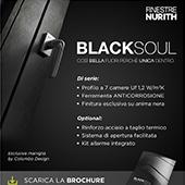 Finestre Nurith Black Soul: finiture e prestazioni eccezionali