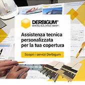 Assistenza tecnica personalizzata per coperture - Derbigum