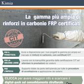 Rinforzo strutturale? Scegli tra 10 sistemi FRP in carbonio certificati CIT