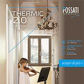 Fossati Serramenti, alto isolamento termoacustico con Thermic 2.0