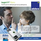 Purifica l'aria dei tuoi ambienti con Aldes InspirAIR Home