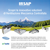 Ventilazione Meccanica Controllata Irsap: scoprila a MCE 2018