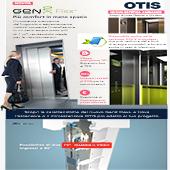 L'ascensore OTIS per piccoli spazi e ristrutturazioni, anche 230 V a energia solare