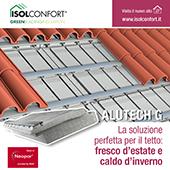 L'isolamento perfetto per il tetto: scopri Alutech G