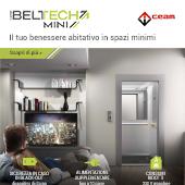 Libertà di movimento in spazi minimi: nuovo Miniascensore Beltech Mini by CEAM