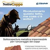 Sottocoppo Metallico Sistema Lastra + Correntini