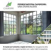 Ferrofinestra Capoferri: tradizione e innovazione