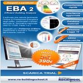 Progetta e certifica il tuo edificio con Eba2, scarica la trial
