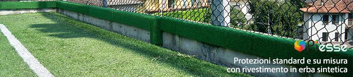 Protezioni in erba sintetica