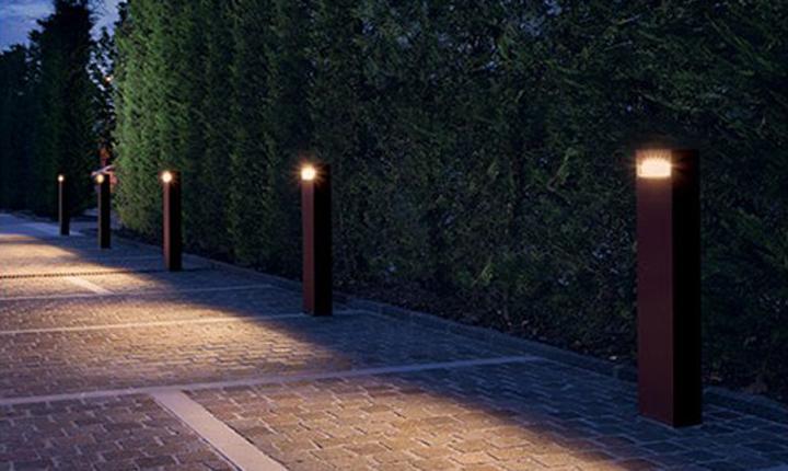 Illuminazione vialetto protezioneazienda