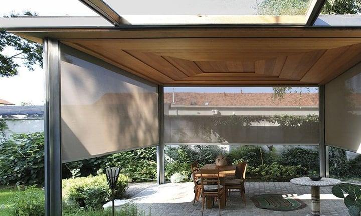 come realizzare verande pergolati e tettoie per vivere gli spazi esterni. Black Bedroom Furniture Sets. Home Design Ideas