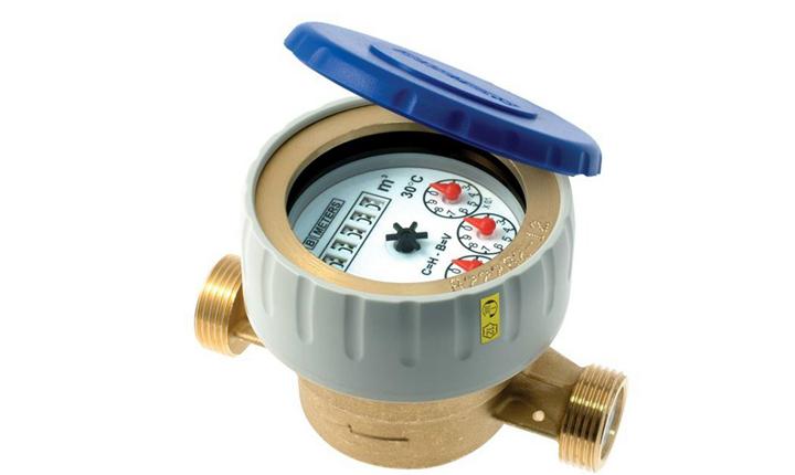 Contatori, misuratori per impianti idrici