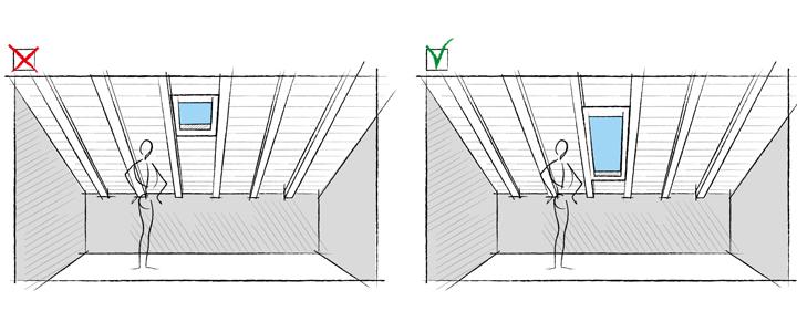 Progettare la luce naturale in mansarda for Finestre sottotetto