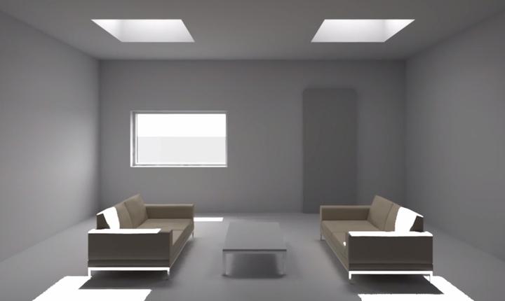 Come diffondere la luce naturale in spazi bui e locali ciechi