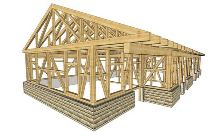 Costruzioni in legno caratteristiche e vantaggi for Strutture metalliche dwg