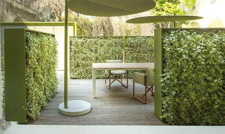 Pareti Dacqua Per Esterni : Come rendere green coperture e pareti esterne