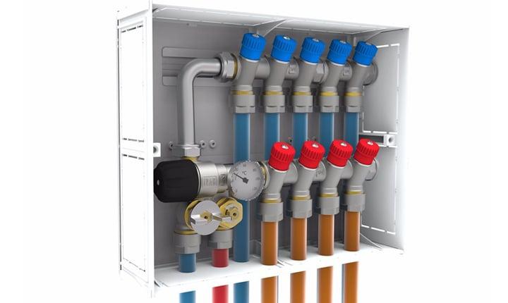 Impianti idrico sanitari reti di adduzione e di scarico for Caldaia ad acqua di plastica
