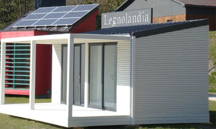 Case Piccole In Legno : Case prefabbricate oggi sono modulari pieghevoli o stampate