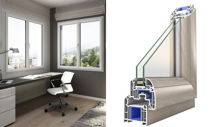 Finestre in pvc caratteristiche e vantaggi - Misure infissi finestre ...