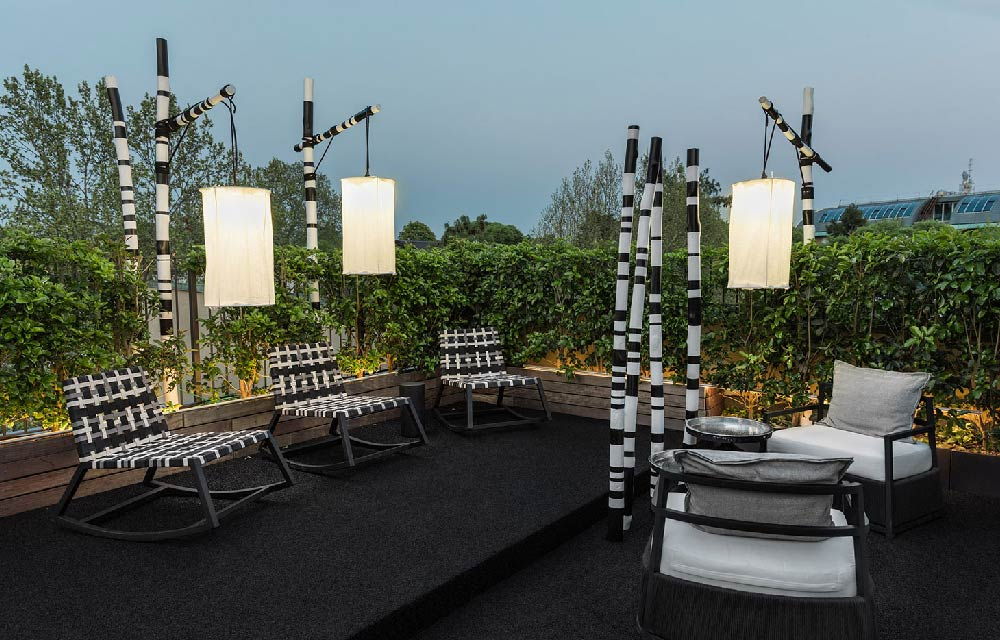 Tendenza rooftop for Viale alemagna 6 milano