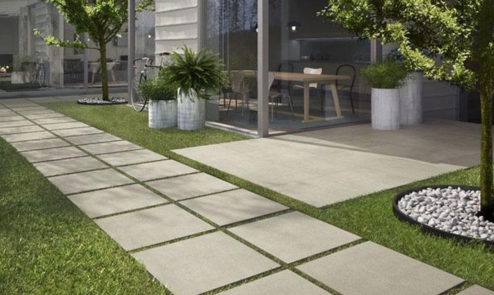 Pavimento per esterno moderno pavimenti per esterni piastrelle in gres porcellanato panaria - Piastrelle pavimento esterno ...