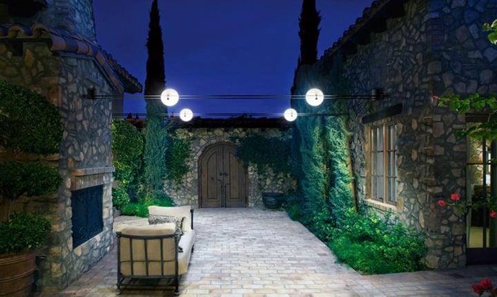 Plafoniere Da Palo Esterno : Illuminazione per esterni guida alla scelta