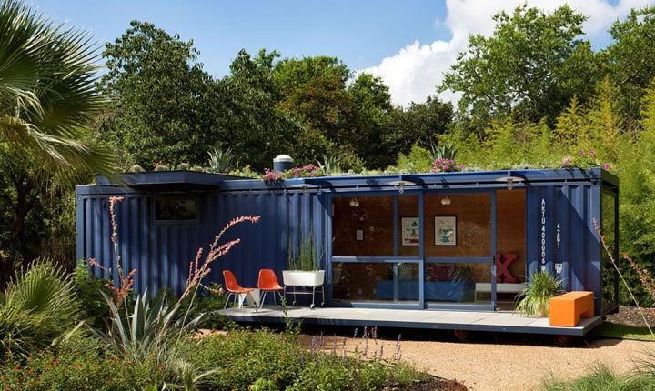Vivere e lavorare in un container scelta green e di design - Casa container prezzo ...