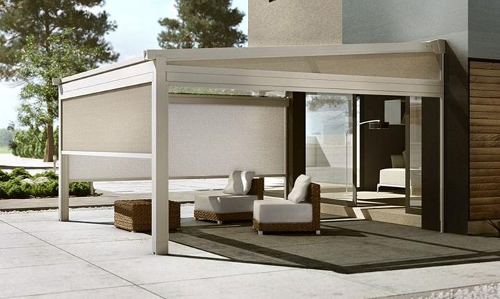 Pergolati Con Tende : Come realizzare verande pergolati e tettoie per vivere gli spazi