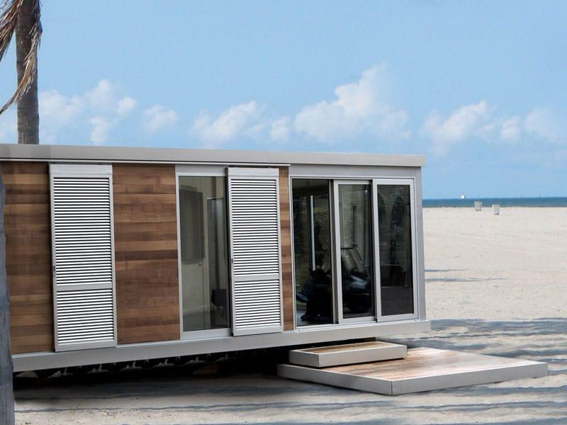 Il nomadismo di hangar design group for Nuove case con suite suocera