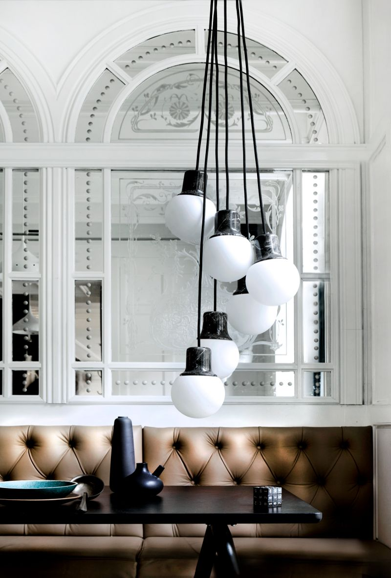 Amp Tradition Launches The Marble Pendant Mass Light