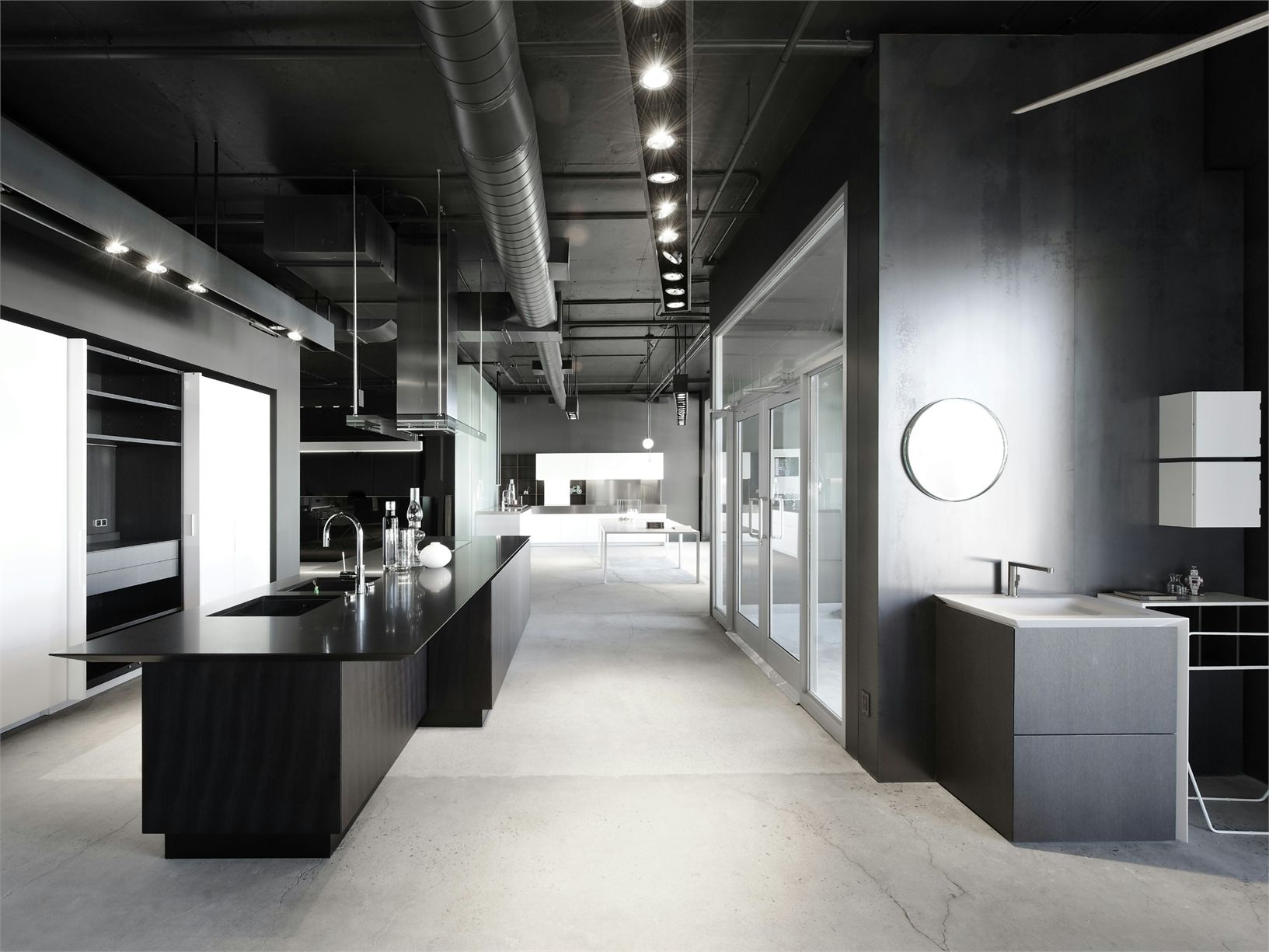 The new exhibition space boffi in montreal - Cuisine ultra design ...
