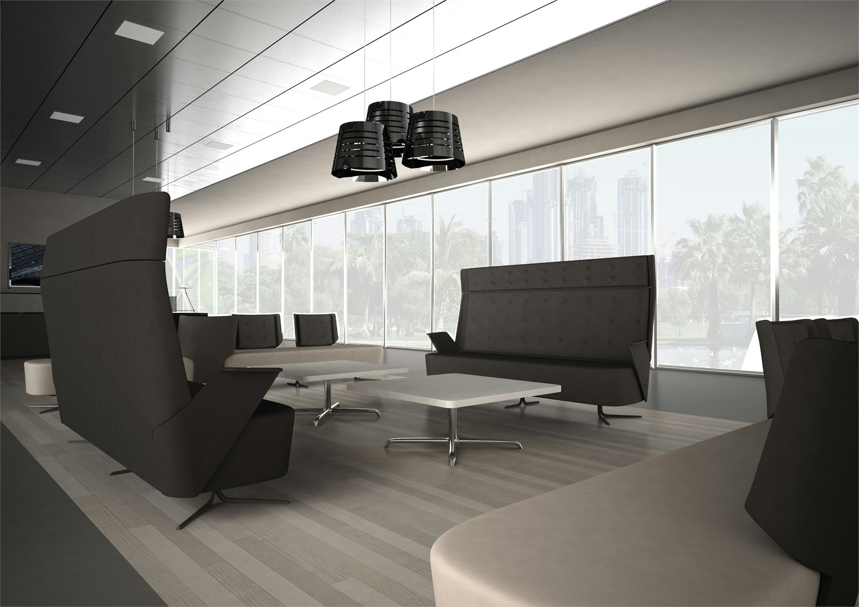 new collections by estel at orgatec 2012. Black Bedroom Furniture Sets. Home Design Ideas