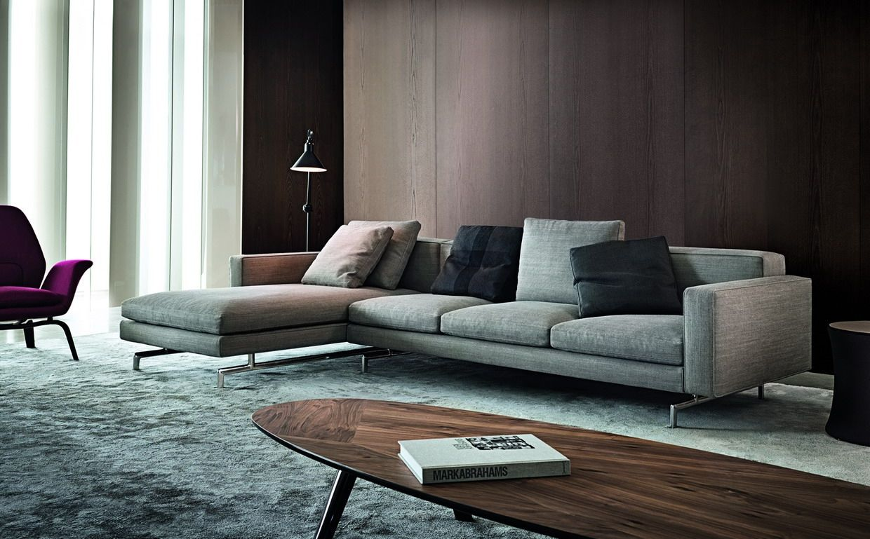 Innovation and continuity for minotti for Divani minotti