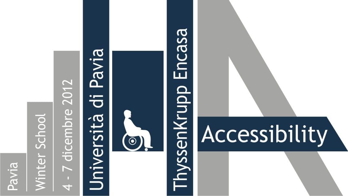 La presentazione della winter school in accessibility with for Miniascensori thyssenkrupp