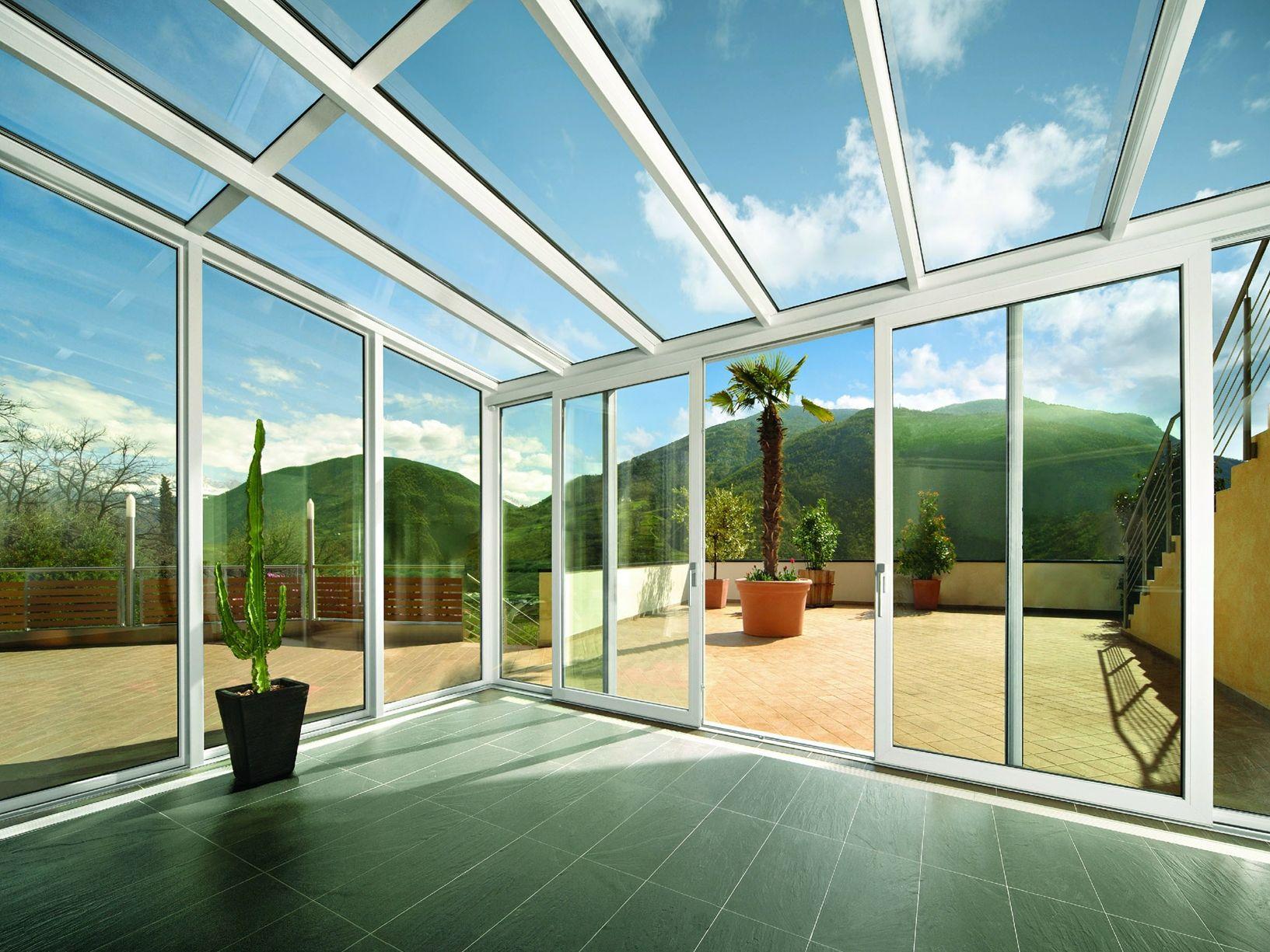 Verande e coperture vetrate proposte da finstral - Finestre finstral opinioni ...
