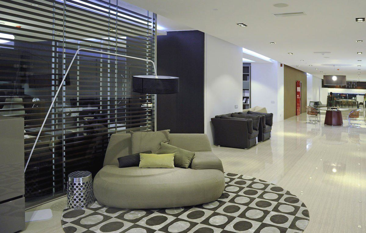 Poliform varenna the new indian showroom - Poliform showroom ...