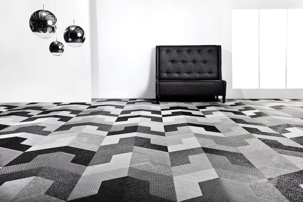 Grafische Textur, architektonische Form: Bolon lanciert neue ...