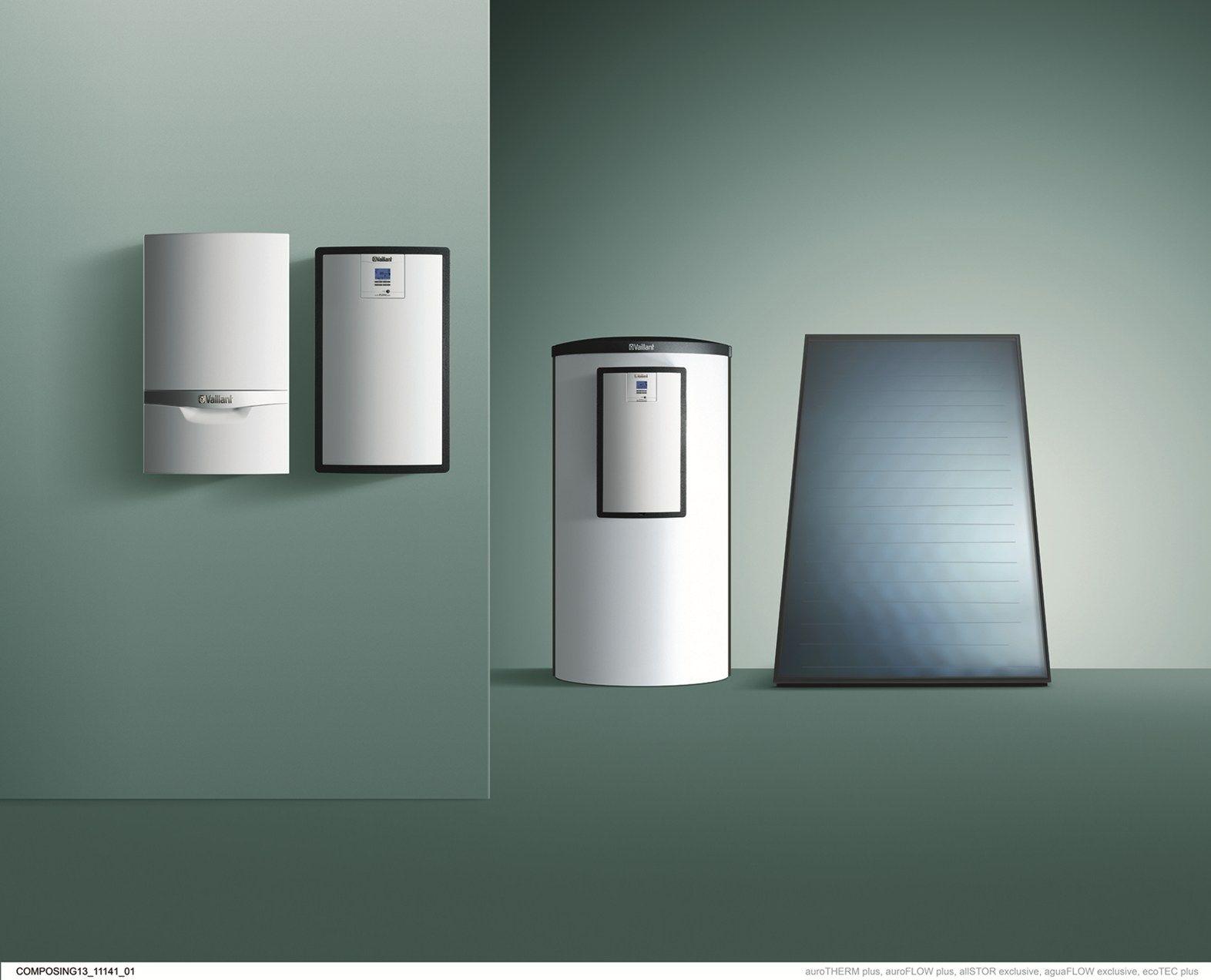 Caldaia Con Pannello Solare : Vaillant coniuga la caldaia con i pannelli solari