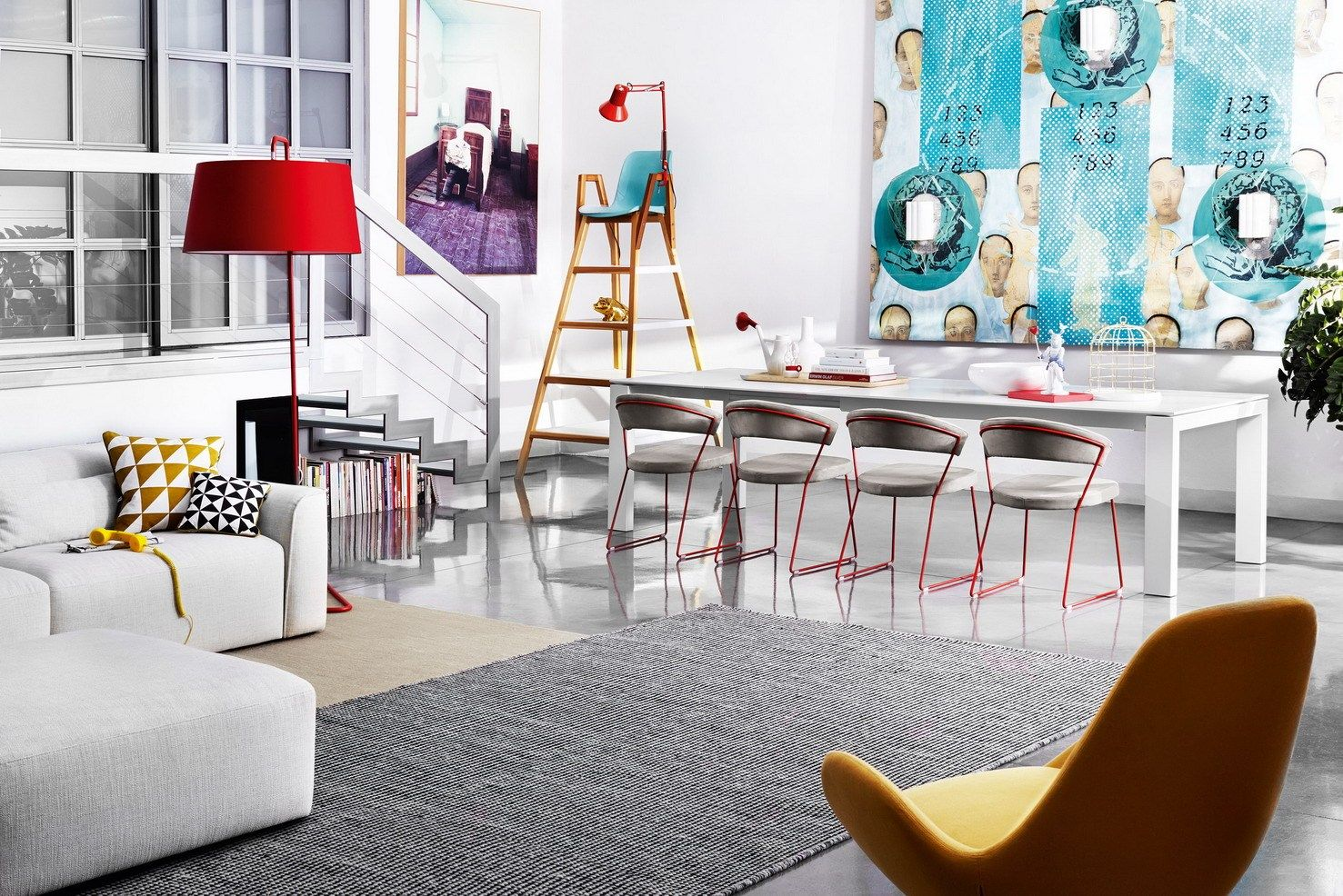 Calligaris: color and humor at Saloni 2013