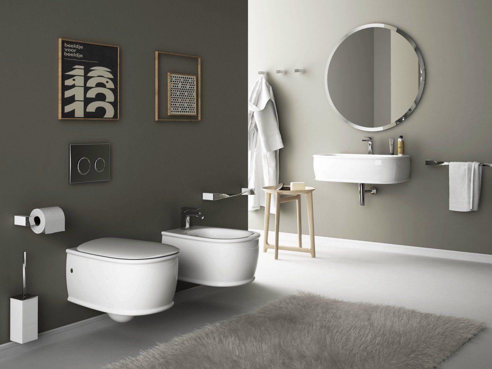 L'ambiente bagno interpretato da artceram