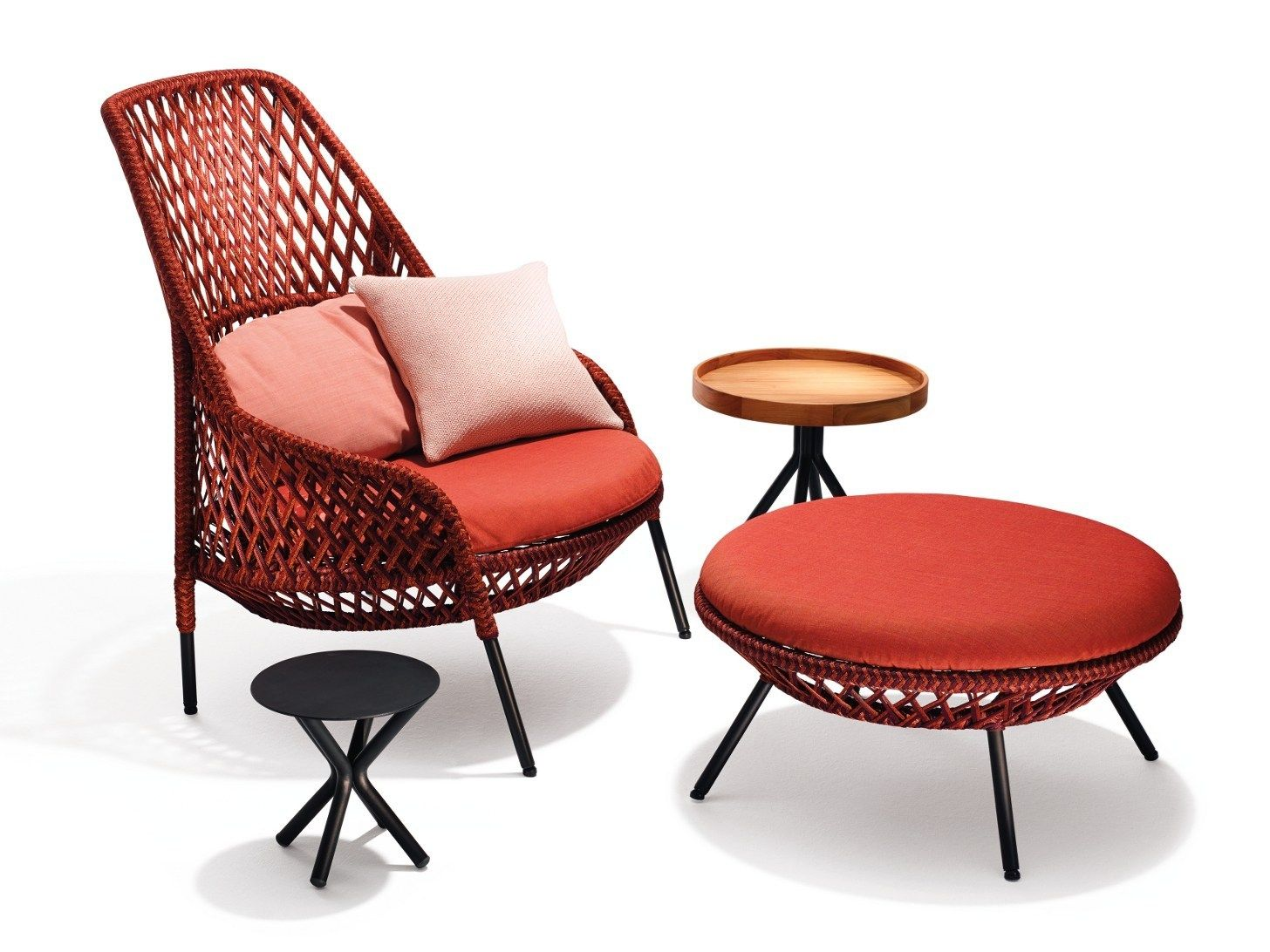 Dedon presents ahnda by stephen burks for Dedon outdoor furniture