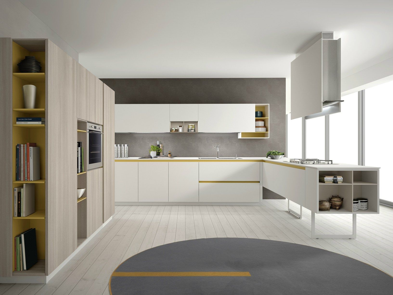 euromobil group presents the 'total home' at isaloni 2014 - Cucina Euromobil