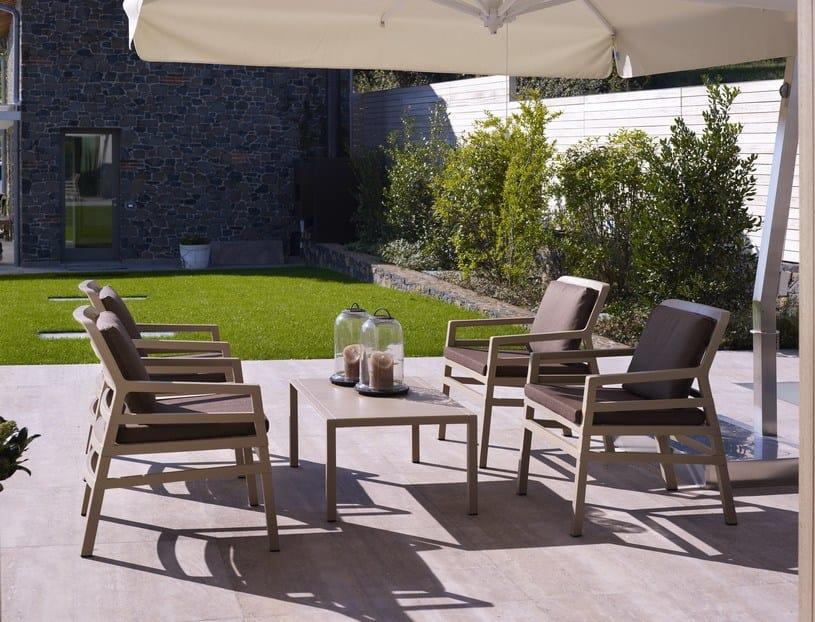 Aria new petit sofa for outdoor by nardi - Mobilier de terrasse design ...