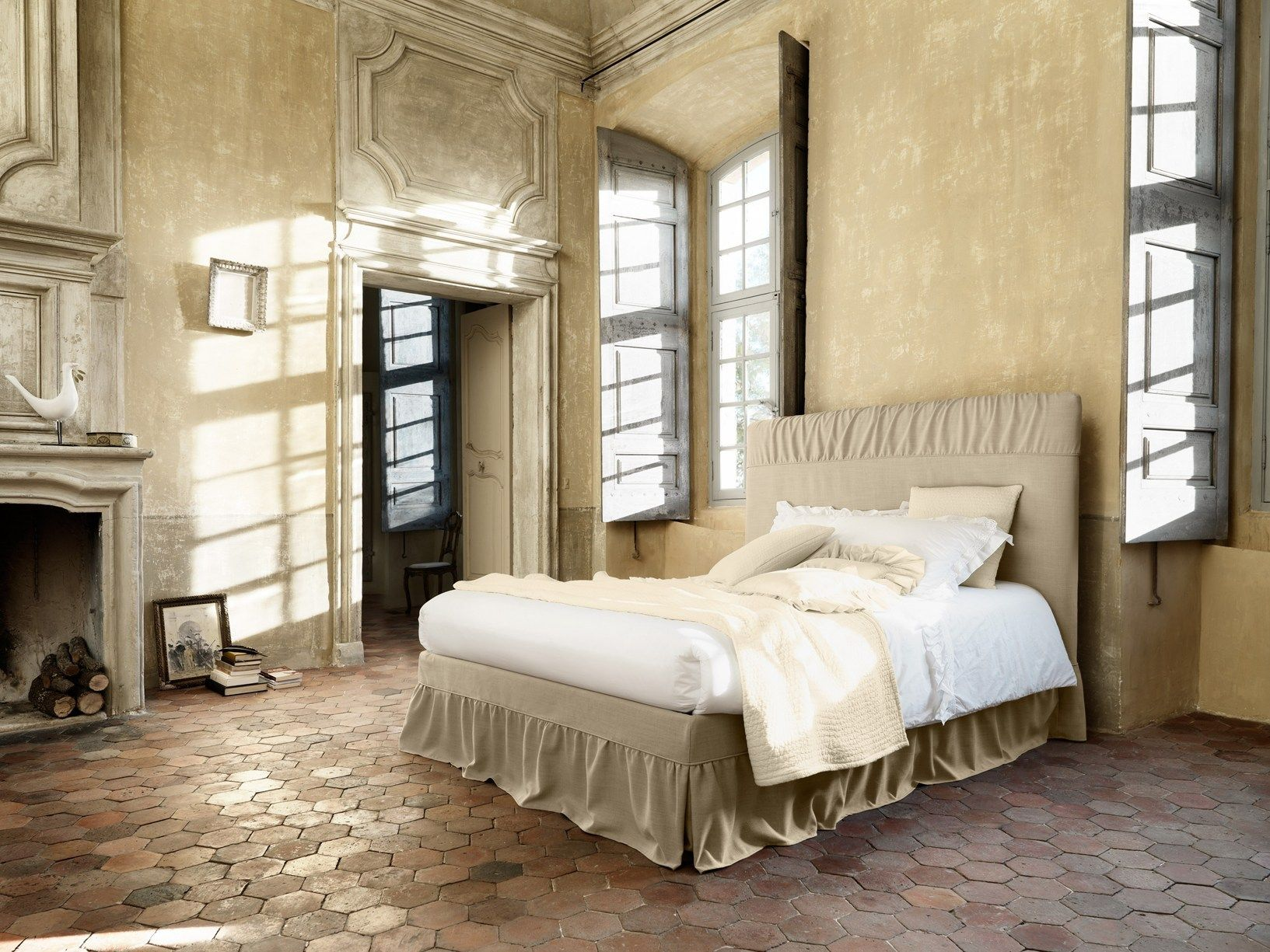 Charme francese per letti shabby chic - Camere country chic ...