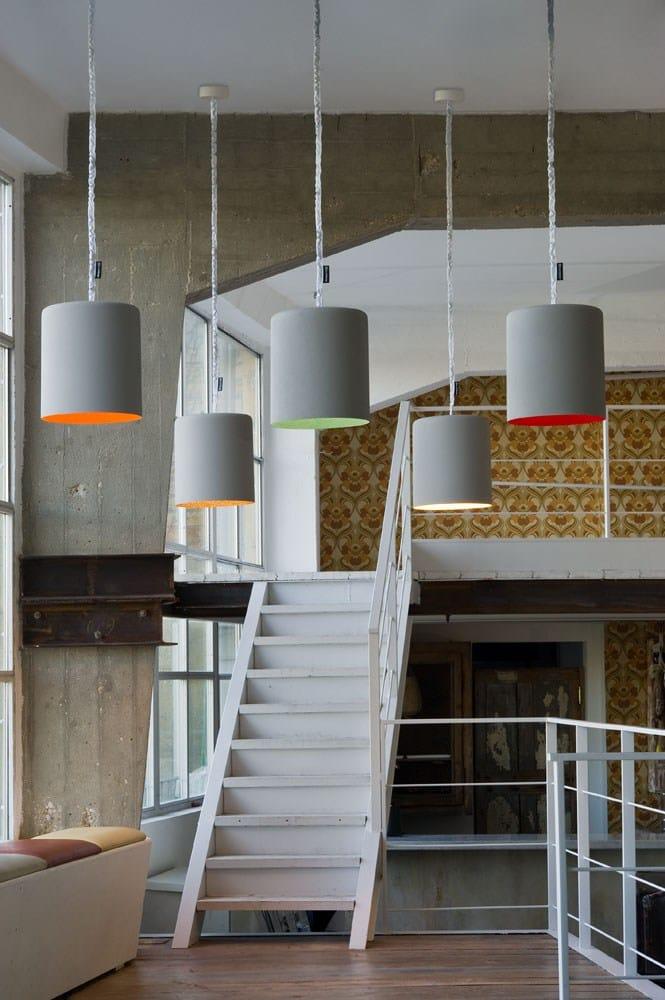 Simply grey indoor e outdoor for Luminaire exterieur design italien