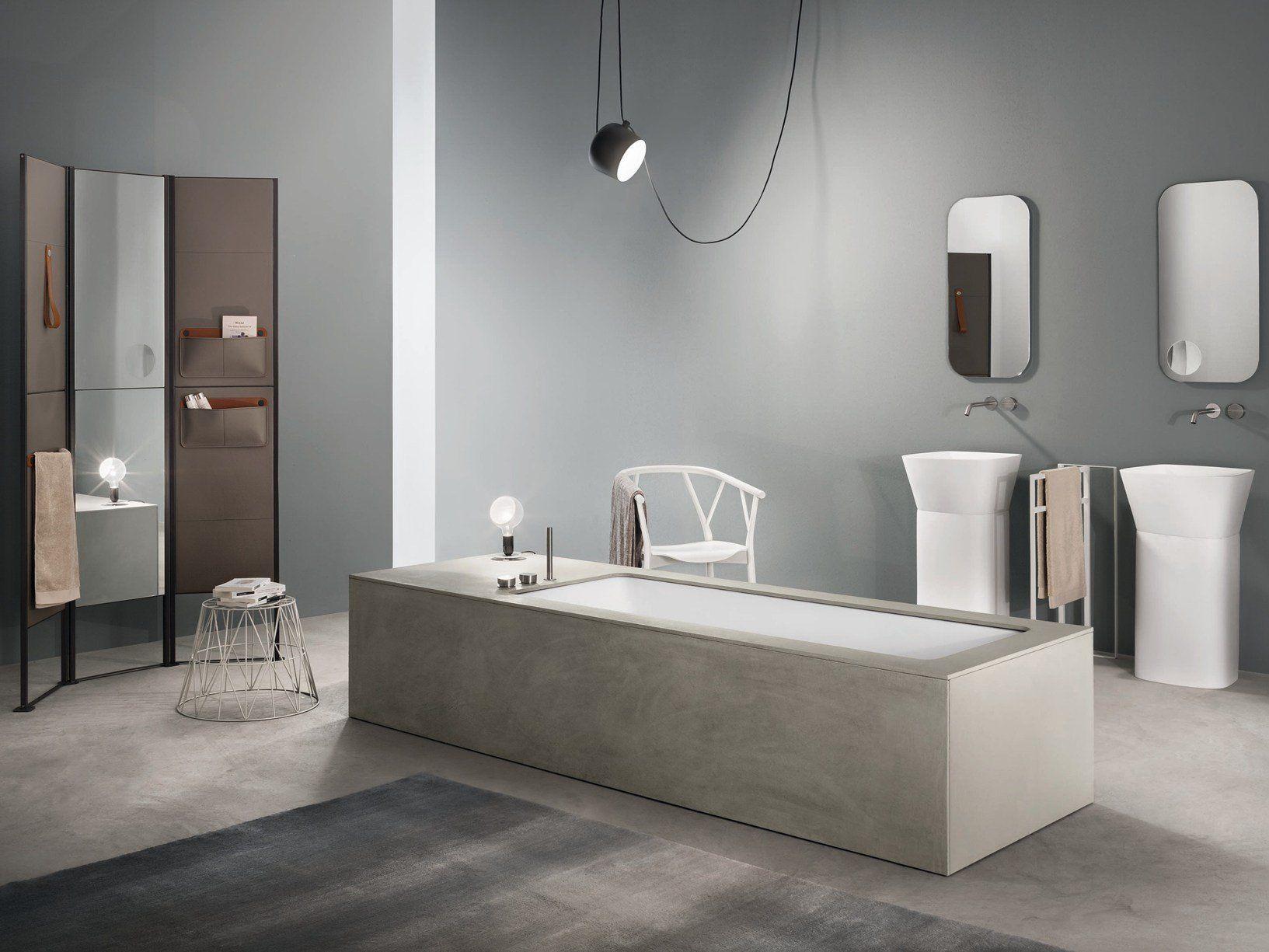 Makro presenta la vasca wave rivestita in ecocemento - Vasca bagno design ...