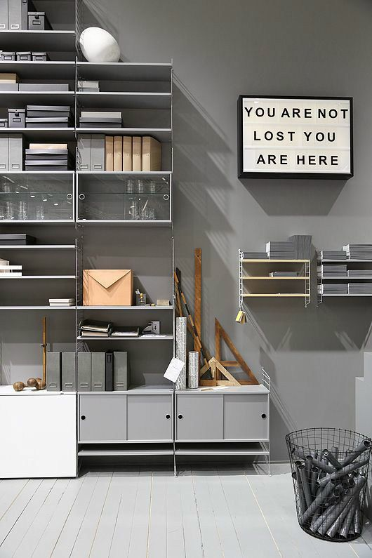 Swedish design lands in london string furniture at for Swedish furniture london